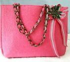 """GOLDIE ~ Limited Edition Pink Large Tote Bag ~ 15"""" x 11"""" x 5.5"""" ~ Purse Logo"""