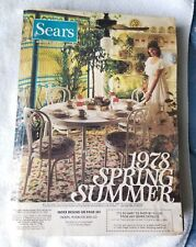 1978 Sears Spring-Summer Catalog Southern Edition