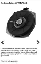 BMW Direct Fit Upgrade Subwoofer Audison Prima APBMW S8-2 Plug & Play 2 OHM