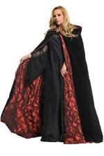 Onorevoli Lungo Rosso Con Cappuccio In Velluto Rosso Riding Hood Mantello Cloak Costume