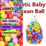 100pcs Plastic Ocean Ball Colorful Ball Soft Funny Baby Kids Swim Pit Pool Toys