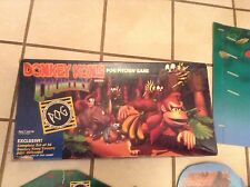 Donkey Kong Milton Bradley Pog Pitching Board Game 100% Complete