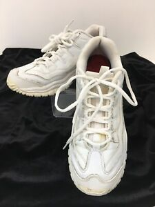 Skechers Womens White Sector Work Shoes 76009 Lace Up Size 7.5  F5