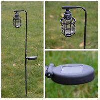 Solarleuchte Gartenleuchte Solar  Gartenbeleuchtung LED Lampe NEU