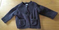 Girls Grey Vertbaudet Cardigan Size 12-18 Months