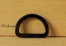 d ring d-rings purse ring alloying gunmetal 25 mm 1 inch 10pcs AB23