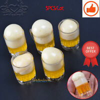 "5PCS 1/6 Scale Beer Cup Glasses Scenery Accessories Solid Model For 12"" Figure"