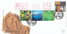 (04721) GIOCO GB FDC persone & luogo CAMPAGNA Agenzia METER MARK 6 GIU 2000