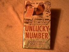 UNLUCKY NUMBER by DEBORAH MATHIS   SOFTCOVER