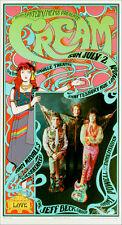 Cream Poster Mayall's Bluesbreakers w Jeff Beck Saville Theater Nice Repro 1967