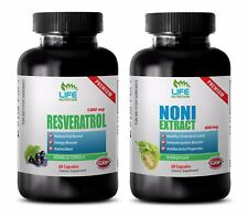 antioxidant powder - RESVERATROL – NONI COMBO 2B - resveratrol and curcumin
