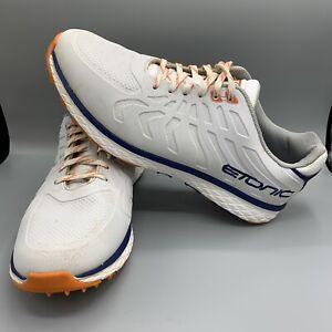 Etonic Difference Golf Shoes White/Orange Size 11 EG901WO