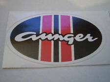 Aunger Mag Louver Profile Cut Sticker.Falcon GT,Monaro,Torana,Charger Mini Pacer