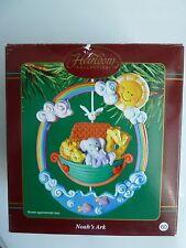 Carlton Cards Heirloom Collection Noah's Ark Ornament #60 EC NIB
