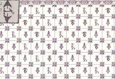 Delft Dutch Wall Tile Sheet  34437 dollhouse 1pc World & Model 1/12 scale