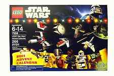 LEGO STAR WARS_2011 Advent Calendar_266 Pieces with Exclusive Santa YODA_New_MIB