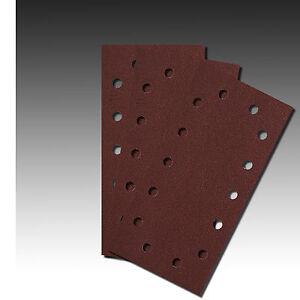 Schleifblätter für Schwingschleifer 115x280mm,Schleifstreifen 14 Loch