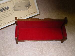 Shackman Miniature Upholstered Sofa,Japan, MIB