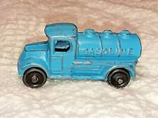 Vintage 1930s Barclay Slush Cast Metal Toy Gasoline Truck 2 1/4""