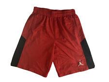 Nike Air Jordan Fleece Basketball Shorts Red (Men's XL)