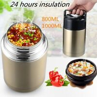 Vacuum Insulated Food Jar Hot Food Containers Stainless Steel Lunch Soup Flask