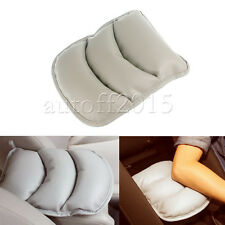 Universal Car Armrest Storage Console Box Top Mat Liner Pad Cover Cushion Grey