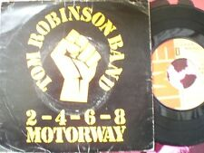PUNK - TOM ROBINSON BAND - 2-4-6-8 MOTORWAY - PICTURE COVER