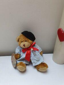 THE TEDDY BEAR COLLECTION Cute Painter Artist Teddy Bear Soft Plush Toy Cuddling