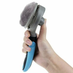 Dog Grooming Comb Shedding Brush Hair Fur Remover Qucik Clean Short Hairs Pet