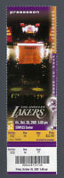 2001-2002 NBA LOS ANGELES LAKERS VINTAGE UNUSED TICKET - KOBE BRYANT - OCT 26