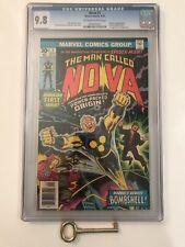 Nova #1 CGC 9.8 Origin & 1st Appearance of Nova (Richard Rider)! Bronze Age Key!