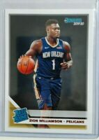 Zion Williamson DONRUSS RATED ROOKIE RC #201 mint super hot zion williamson rc