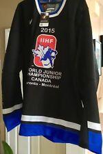 "2015 IIHF World Junior Toronto-Montreal Hockey Jersey Nike Size "" L "" - No Tax"