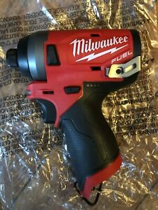 """Milwaukee 2553-20 M12 FUEL 1/4"""" Impact Driver (Tool Only)"""