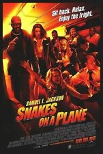 Snakes on a Plane Original D/S One Sheet Rolled Movie Poster 27x40 New 2006