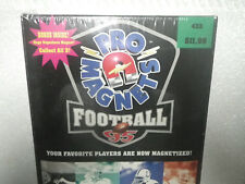 1995 Pro Magnets Football Sealed Box 5 per pack/12 packs per box Bonus Superhero