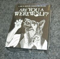 Card Game Looney Labs Are You a Werewolf? 2014 Werewolf NEW Halloween Fun USA