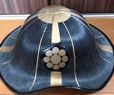 Vintage japanese jingasa hat helmet Edo Kabuto Yoroi samurai ninja armor