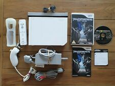 NINTENDO WII WHITE CONSOLE BUNDLE TRANSFORMER GAME **TESTED - SAME DAY DISPATCH*