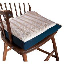 Gel Seat Cushion For Wheelchair Chairs Orthopedic Pad Fleece Top Comfort