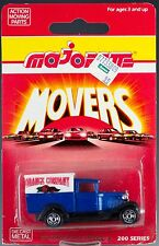 "Majorette Die Cast #201 Van Ford Model A Blue ""Orange Company"" MOC"