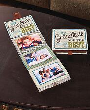 "NEW Ribbon of Memories Photo Display/Storage Box- Grandkids Fits 12- 4x6"" Photos"