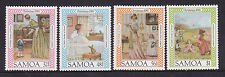 1985 Samoa Christmas - MUH Complete Set