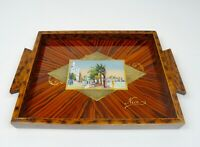 VERY RARE ORIGINAL FRENCH AVANTGARDE ART DECO COCKTAIL TRAY 1930 CITY OF NICE