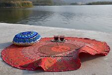 Indian Mandala Round Beach Throw Tapestry Hippie Wall Hanging Table Cloth Decor