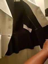 Emporio Armani Stylish Jacket, Size 46, White color, with a beautiful back flap