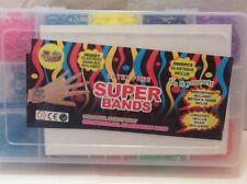 Super Band Armband Box elastische Bänder 2600 Teile mehrfarbig zum selber machen
