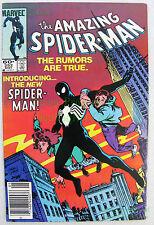 Amazing Spider-Man #252 NEWSSTAND Variant 1984 1st Black Suit ASM - KEY ISSUE