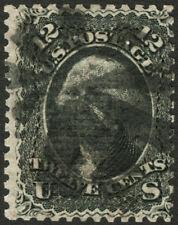 Classic US #90 12c Black 1868 VF Used ::E Grill:: Rare CV $400++