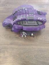 Halo Mega bloks Covenant Phantom + 4 other vehicles & 27 minifigures